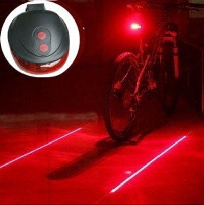 LED Lamp Fiets Verlichting Met Laser | Extra Veilig Fietsen | 9 Verschillende Functie's | Achterlicht | Achter Lamp Fiets | Achterlamp met Laser