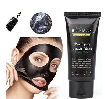 50 ml | Black Head Peel Off Mask Tube | Mee Eters & Acne verwijderen | Peel Off Mask | Blackhead Pilaten Masker | Black Head Mask