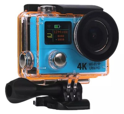 Ultra HD 4K Action Cam   Nieuwste model Sport Actie Camera   DUAL Screen   wifi   afstandsbediening   170 graden lens incl accesoires