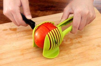 Handige 2 in 1 Groente Houder en Snijder | Multifunctionele Groente en Fruit Houder Snijder