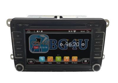 Navigatie radio VW Volkswagen Golf Touran Polo Passat, Android OS, 7 inch scherm, Canbus, GPS, Wifi, Mirror link, DAB+, Bluetooth