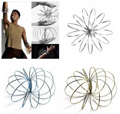 Magic Metal Rings | RVS Flow Ring 3D | 3D Toroflux Flow Ring | Magische Armband | Nieuwe Rage