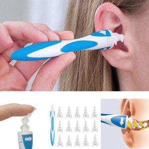 Oorreiniger Ear Picker | Oorsmeer Verwijderaar | Oor Reiniger | Ear Cleaner met 16 extra Vervangtips!