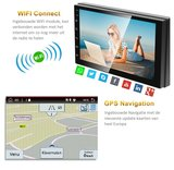 Navigatie radio Ford Focus, Android OS, Apple Carplay, 9 inch scherm, GPS, Wifi, Mirror link, DAB+, Bluetooth, Canbus, Auto climate_