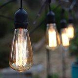Vintage Edison Licht Bulb Dimbaar | Retro Filament Lamp | 40 Watt E27 Lichtbron | Dimbare Kooldraad Lamp_