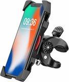 Stevige Universele Telefoonhouder Fiets | Fiets Telefoon Houder Extra Stevig | Smartphonehouder Fiets tot 6,5 inch | Fietshouder voor iPhone, Samsung en alle overige telefoon merken_