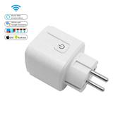 WiFi Smart Socket | Slimme WiFi Stekker Plug | Smart Socket werkt met App Control | Spraakbesturing via Google Home en Amazon Alexa_