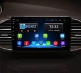 Navigatie radio Peugeot 308 2014-heden, T9, Android OS, Apple Carplay, 9 inch scherm, Canbus, GPS, Wifi, Mirror link, OBD2, Bluetooth, 3G/4G_