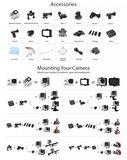 Ultra HD 4K Action Cam | Nieuwste model Sport Actie Camera | DUAL Screen | wifi | afstandsbediening | 170 graden lens incl accesoires_