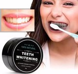 Natural Teeth Whitening | Activated Charcoal Tandenbleker | Bamboo Activated Charcoal | 100% natuurlijk poeder voor gladde, witte tanden_