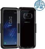 Samsung S8 Waterdichte Stofdichte Hoes IPX68 | Samsung Galaxy S8 Waterproof Shockproof Case | Geheel Waterdicht en Rondom Bescherming | Kleur Zwart_