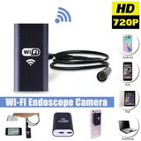 WiFi Endoscoop HD LED | Mini Camera met 10 meter Kabel | Waterdichte inspectie camera met LED Verlichting_