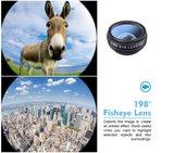 10 in 1 Smartphone Lens Kit | Clip on Lenzen Kit 10 Verschillende Lenzen | Telefoon Opzet Lens Set_