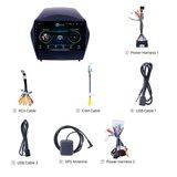 Navigatie radio Hyundai IX35 2009-2015, Android OS, Apple Carplay, 9 inch scherm, GPS, Wifi, Mirror link, Bluetooth_