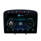Navigatie radio Peugeot 408 2010-2016, Android OS, Apple Carplay, 9 inch scherm, Canbus, GPS, Wifi, Mirror link, OBD2, Bluetooth, 3G/4G_