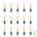 3x Retro LED Filament Lamp E27 fitting | Vintage Warm Wit 2700K 2 Watt Dimbaar | Retro LED Bulb | Set van 3 of 6 stuks_