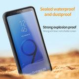 Waterdichte Stofdichte Samsung S9 Hoes Case   Op Maat Gemaakte Telefoonhoes voor Samsung S9   Geheel Waterdicht en Rondom Bescherming tegen Vallen en Stoten   IP67_