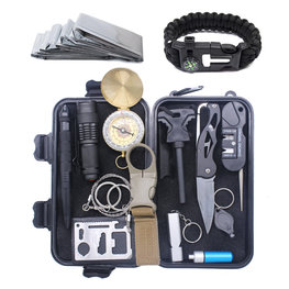 Multitool Ultimate Survival Kit | Outdoor Camping Backpacking Emergency Survival Kit | SOS EDC Multifunctionele Box