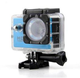 Full HD Sport Actie Camera | Action Sports Cam 1080p | 2 inch LCD scherm | Onderwater Camera | Waterdicht tot 30 meter