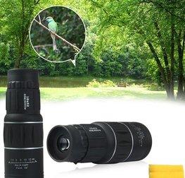 Professionele Monokijker 16x52 Dual Focus   Optische Lens met 16x optische zoom  Monocular Telescoop   Professionele verrekijker   66M/8000M