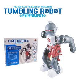 3 in 1 Tumbling Robot Kit   Educatief Speelgoed Robot Kit   Vallen, Opstaan, Dansen, Duikelen