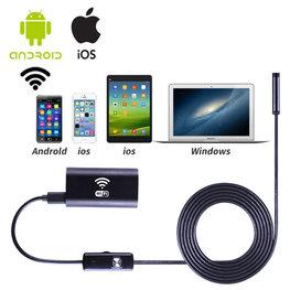 WiFi Endoscoop HD LED Hard Wire | Mini Camera met 5 meter Harde Kabel | Waterdichte inspectie camera met LED Verlichting en Stevige Buigzame Harde Kabel 5 meter