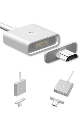 Magnetische Oplaad en Data Kabel | Micro USB Laad en Data Kabel Magnetisch | Smart Magnet voor Samsung, Nokia, LG, Huawei