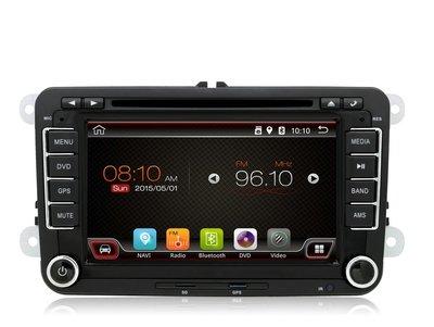 "Android 6.0 DVD navigatie radio 7"" VW Volkswagen Golf Touran Polo Passat, GPS, Wifi, Mirror link, OBD2, Bluetooth, 3G/4G"