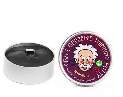 Magic Putty   Magnetisch Plasticine Hand Gum   Magnetische Kneed Gum   Silly Putty Hand Klei   Magnetic Smart Mud   Kleur Zwart