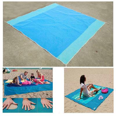 Zand Vrij Strandmat | Zandvrij Strandlaken | Waterafstotend Strand Kleed | Magic Carpet | Zand Vrij Mat | 200x150 cm