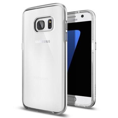 Transparante bumper Samsung S7, G930A G9300, schokabsorberend ultra dun TPU siliconen hoesje