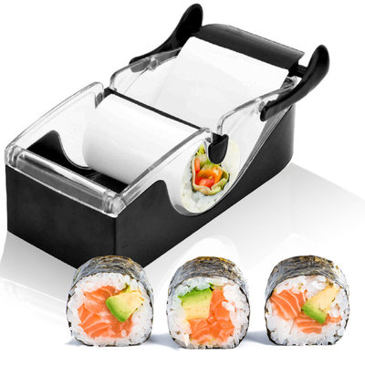 Perfect Magic Sushi Roll Maker | Sushi Roller Zwart | Easy Sushi Roller | Magic Sushi Machine