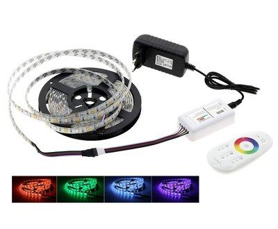 RGBWW LED Strip 5 meter 5050   300 LED's Warm Wit & Kleur Dimbaar   Waterdichte 5 Pins LED Strip 12V met 2.4G WiFi Touch Afstandsbediening