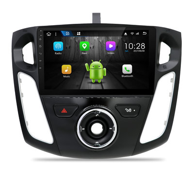 "Android navigatie radio 9"" Ford Focus 2012-2017, Canbus, GPS, Wifi, Mirror link, OBD2, Bluetooth, 3G/4G"