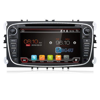 Navigatie radio Ford Focus Mondeo S-Max Galaxy, Android OS, 7 inch scherm, Canbus, GPS, Wifi, Mirror link, OBD2, Bluetooth, 3G/4G