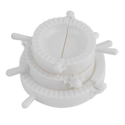 Ravioli Maker 3 Stuks | Ravioli Mal | Pastei Maker - Ravioli Vorm - Deeg Uitsteker en Ravioli Dichter | Diameter 10 cm - 8 cm - 7cm