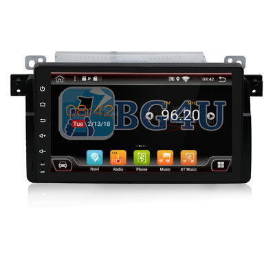 Navigatie radio BMW E46 3 serie, Android OS, 9 inch scherm,  GPS, Wifi, Mirror link, DAB+, Bluetooth, Canbus
