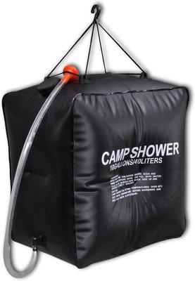 Mobiele Solar Camping Douche Zak - Kampeer Buiten Douche / Camp Shower - 40 liter