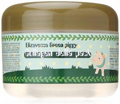 Elizavecca | Milky Piggy | Green Piggy Collagen Jella Pack | Gezichtsmasker