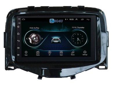 Navigatie radio Citroen C1 Peugeot 108 Toyota Aygo, Android 8.1, 7 inch scherm, GPS, Wifi, Mirror link, Bluetooth