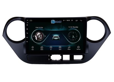 Navigatie radio Hyundai i10, Android OS, Apple Carplay, 9 inch scherm, GPS, Wifi, Mirror link, Bluetooth