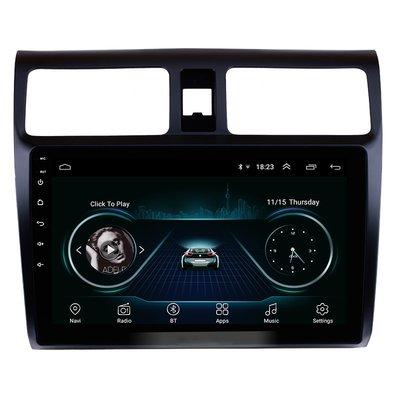 Navigatie radio Suzuki Swift 2005-2010 Android 8.1, 10.1 inch scherm, GPS, Wifi, Mirror link, Bluetooth