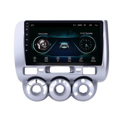 Navigatie radio Honda Jazz 2002-2008, Android OS, Apple Carplay, 9 inch scherm, GPS, Wifi, Mirror link, Bluetooth