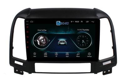 Navigatie radio Hyundai Santa Fe 2006-2012, Android, Apple Carplay, 9 inch scherm, GPS, Wifi, Mirror link, Bluetooth