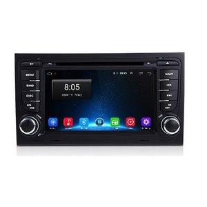 Navigatie radio Audi A4 / RS4, Android, Apple Carplay, 7 inch scherm, GPS, Wifi, Mirror link, Bluetooth