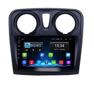 Navigatie radio Dacia Logan Sandero 2013-2019, Android OS, Apple Carplay, 9 inch scherm, GPS, Wifi, Mirror link, DAB+, Bluetooth