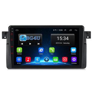 Navigatie radio BMW 3-serie E46, Android, Apple Carplay, 9 inch scherm, GPS, Wifi, Mirror link, Bluetooth