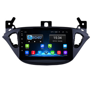 Navigatie radio Opel Corsa E en Adam, Android, Apple Carplay, 8 inch scherm, GPS, Wifi, Mirror link, Bluetooth