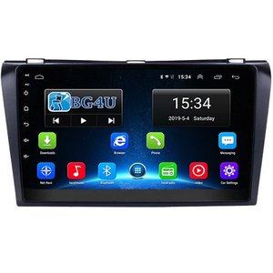 Navigatie radio Mazda 3 2004-2009, Android, Apple Carplay, 9 inch scherm, GPS, Wifi, Mirror link, Bluetooth