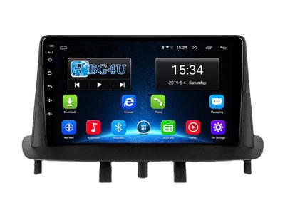 Navigatie radio Renault Megane type 3 2008-2014, Android, Apple Carplay, 9 inch scherm, GPS, Wifi, Bluetooth